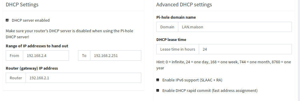 Capture DHCP Pi-Hole
